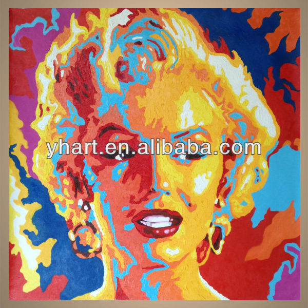 Popular Modern Handmade Marilyn Monroe Abstract Paintings With