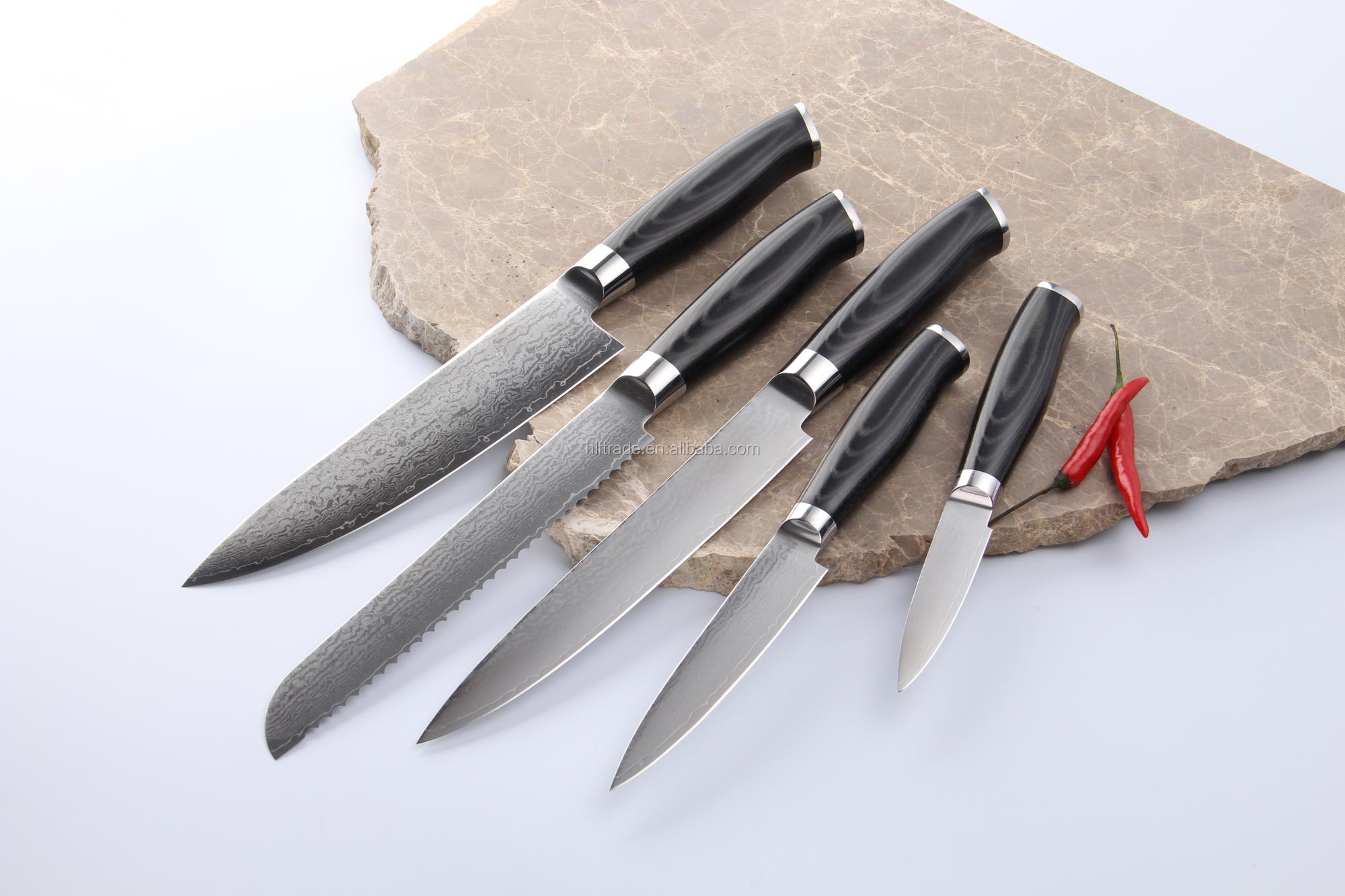 Dp9201 8 Inch Vg10 Damascus Chef Knife Kitchen Knife Set