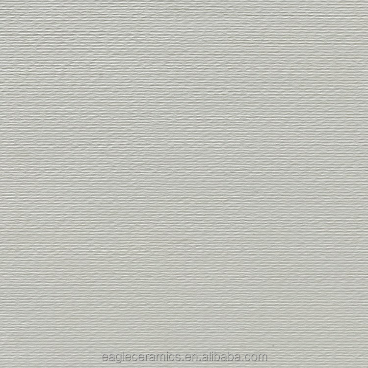 "Foshan linen texture rough surface full body pure grey porcelain tile wall 24""x24"""