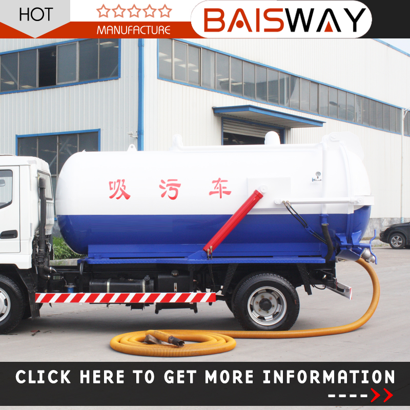 new widely used Vacuum Sewage Suction Truck for sale