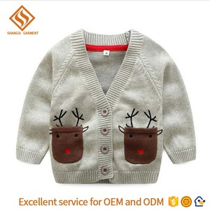 9f2f99d9a 2017 Winter long sleeve cardigan sweater designs for kids
