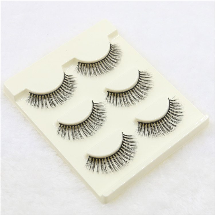 own brand synthetic hair 3D faux false eyelashes best selling