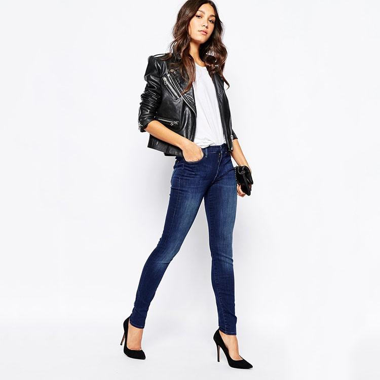 Fashion Skinny Girls Sexy Tight Denim Jeans Made In China - Buy Denim Jeans Made In -4298