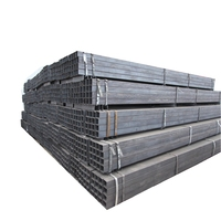 Building material Q195/Q235 erw welded 1x1 square steel tubing high quality square tube