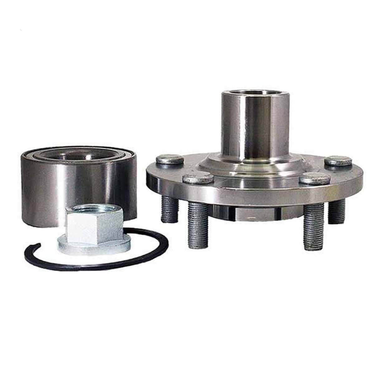 Brand New Front Wheel Hub and Bearing Assembly Kit Nissan Altima W/ Bearing 5 Bolt 6 Cyl Only 518516
