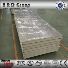 pu foam corrugated wall sandwich panel partition wall system