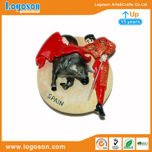 Spain Bullfight Resin crafts sticker Fridge Magnet Polyresin Magnets
