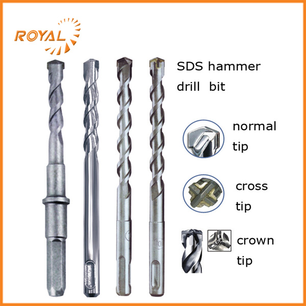 Factory direct sale YG8C extension 1/1/4 sds max drill bit with low price