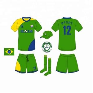 8e4ec13d521 Brazil Soccer Uniform