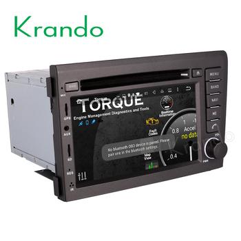 Wonderbaarlijk Krando Android 7.1 Autoradio Dvd Multimediale Per Volvo S60 V70 WW-77