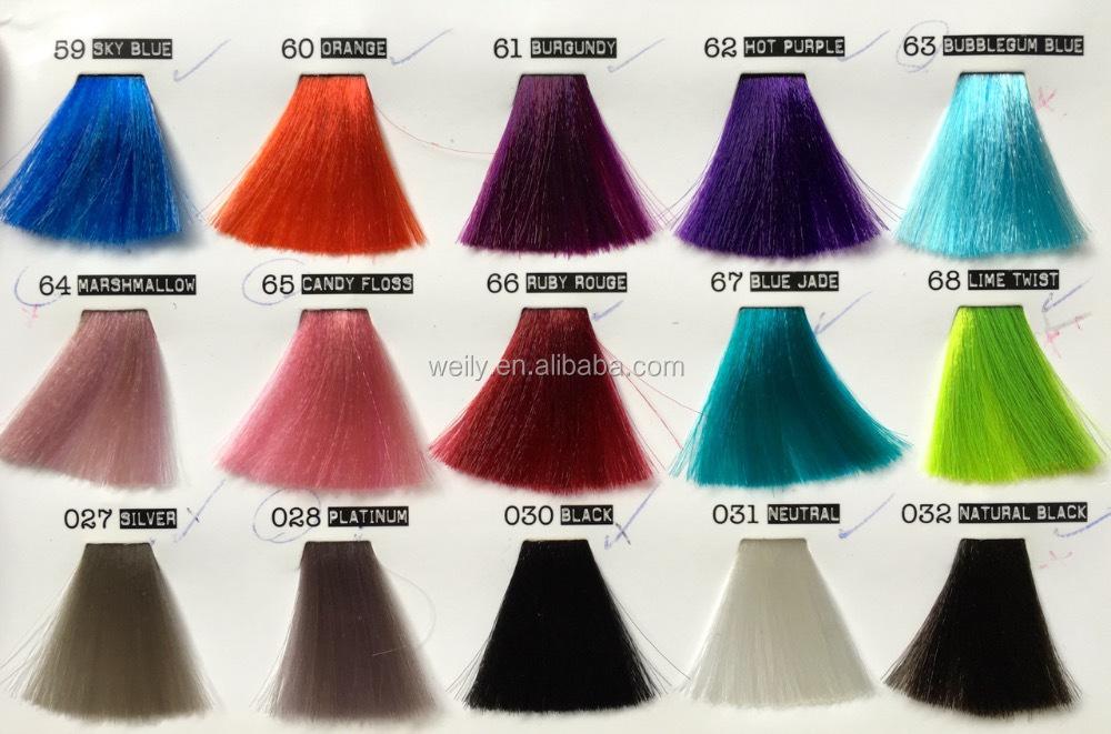 meraude vert cheveux fou couleur semi permanente cheveux colorant sans ammoniaque pas de peroxyde - Coloration Cheveux Semi Permanente