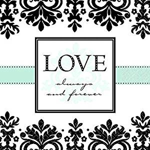 Love, Always & Forever Lunch Napkins | Wedding and Engagement Party