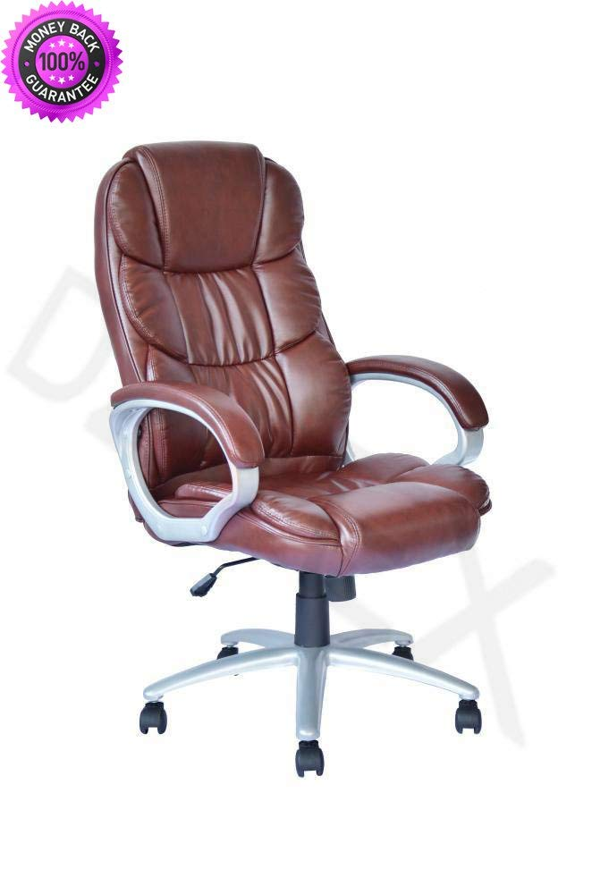 DzVeX_High Back Leather Executive Office Desk Task Computer Chair w/Metal Base O10R And chair lifts restaurant chairs stacking chairs waiting room chairs office furniture chair mats for carpet chair