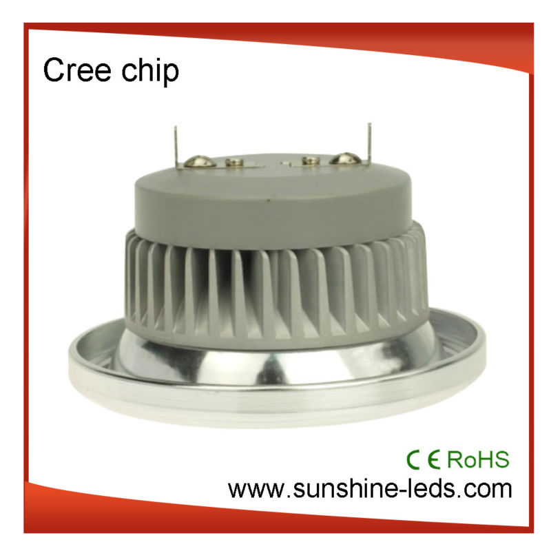 3 years warranty 15W Cree chips cob ar111 gu10 led with CE and ROHS