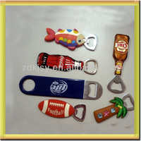 silicone/PVC Beer Bottle Opener /soft drink can opener with keyring