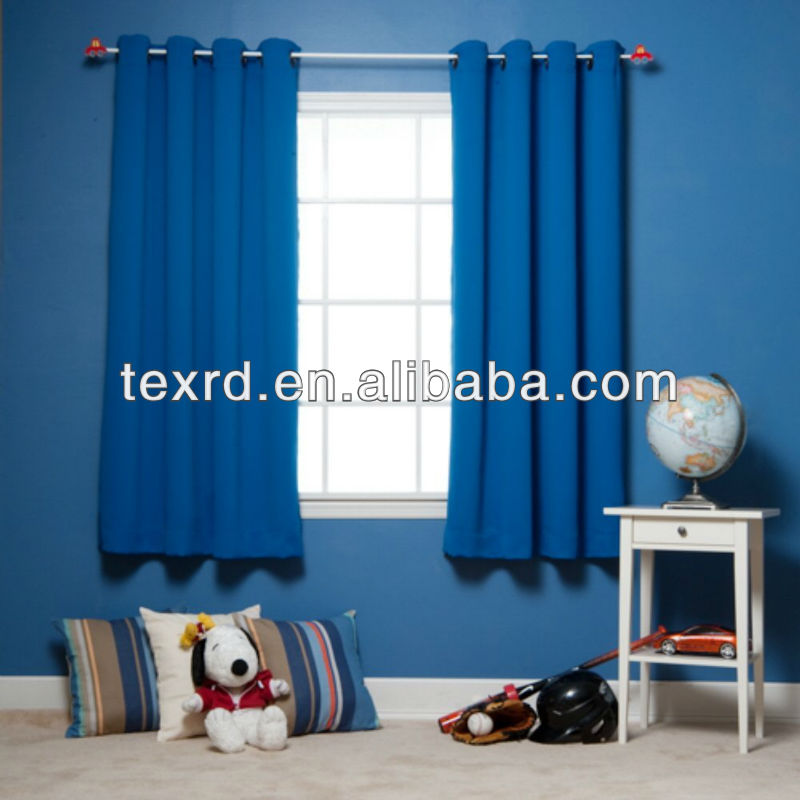 Polyester Blackout Kids Room Curtain
