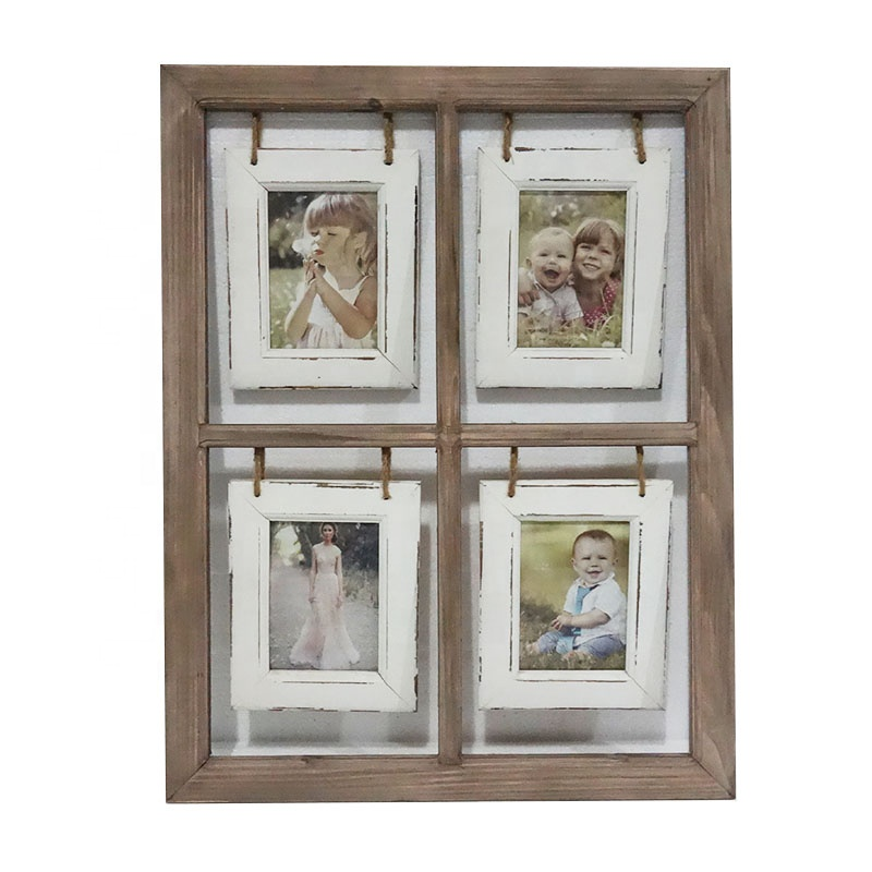 High Quality Wooden Picture Photo <strong>Frame</strong> Decoration Wood <strong>Vintage</strong> Photo <strong>Frame</strong> For Hanging