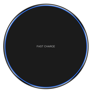 10W Qi Wireless Charger Pad LED Light Fast Charging Wireless Charger for iphone X 8 Plus