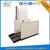 Home inclined wheelchair platform lift for disabled person