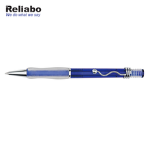 Reliabo China Product Office Stationery Unique Design Plastic Ball Pens Set With Curve Clip