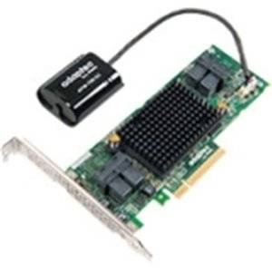 "Adaptec, Inc - Adaptec Series 8Q With Maxcache Plus - 12Gb/S Sas - Pci Express 3.0 X8 - Plug-In Card - Raid Supported - 0, 1, 1E, 5, 6, 10, 50, 60 Raid Level - 16 Sas Port(S) ""Product Category: I/O & Storage Controllers/Scsi/Raid Controllers"""