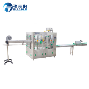 Small Scale Plastic Bottle Spring Water Filling Machine / Filler Machinery  In Nigeria