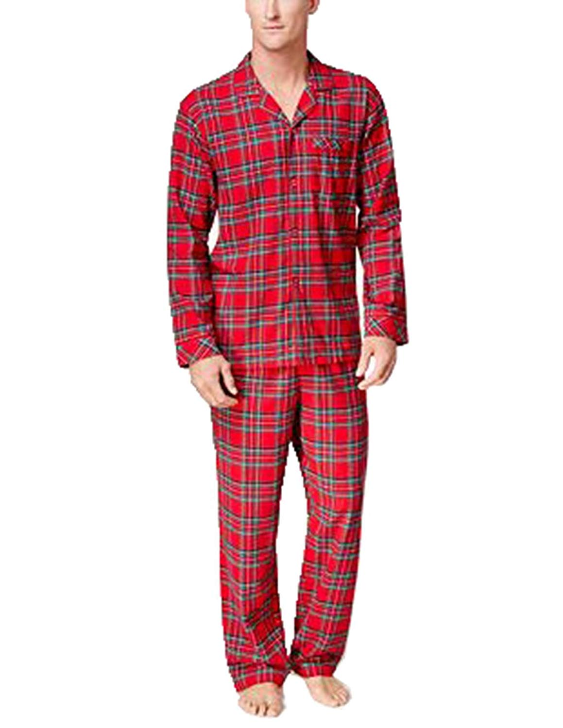 978e4134be Get Quotations · FAMILY PJS-MMG Family Pajamas Family Pajamas Mens Brinkley  Brinkley Plaid M