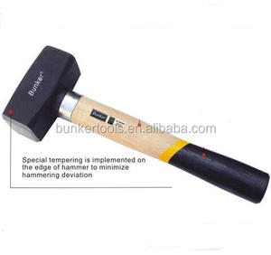 Stoning Hammer With Wooden Handle