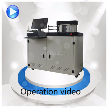 cnc channel letter bending machine alurapid coil for channel letter