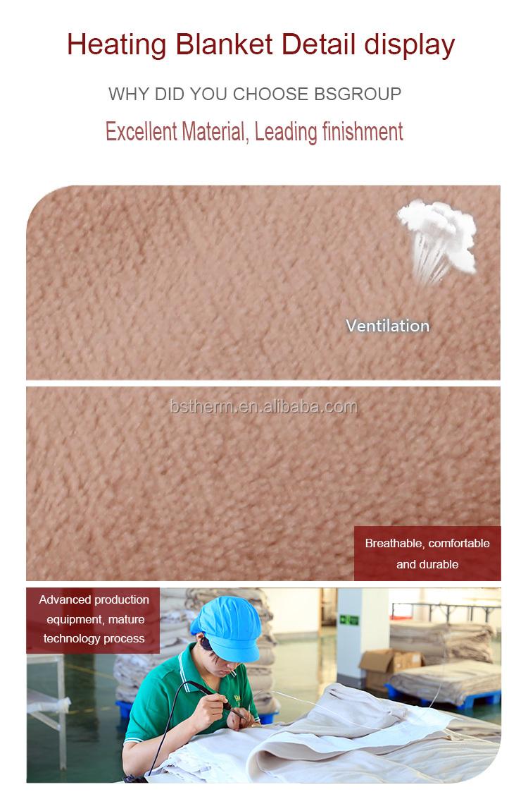ใหม่ราคาถูกผลิตภัณฑ์สุขภาพโยนผ้าห่มขนสัตว์ถ่วงน้ำหนักผ้าห่มไฟฟ้าความร้อน