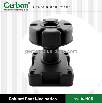 Perfect Adjustable Plastic Cabinet Feet
