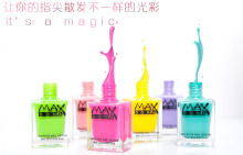 1Pcs Hot New Fashion 8 Colors Water based 6ml Non toxic Tasteless Green Nail Polish Can