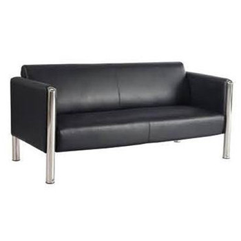 Decoro Leather Office Sofa Sf129 3 2 1