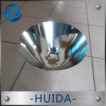 Factory direct sale spinning aluminum lamp shade The highway speed measuring radar reflectors