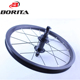 2016 New Type Racing/Cycling 16'' Light Weight Black Road Bicycle Wheelsets