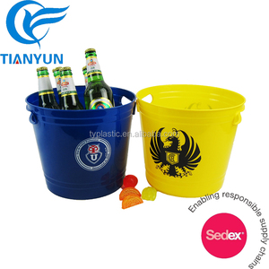Plastic Cheap round beer bucket promotion