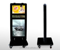 42'' 46'' outdoor waterproof free standing 1080p digital signage with HDMI