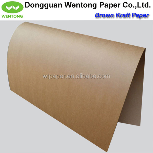high quality brown virgin kraft paper sheet