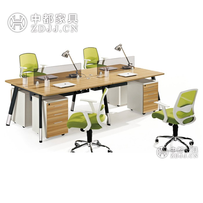 furniture office workstation furniture with 4 seats buy office