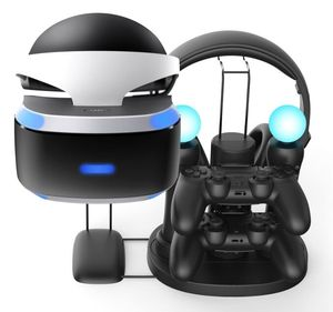Image of 2017 PS move controller dual charge display station for playstation 4 playstation vr