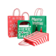 Printed Handle Paper Bag, Fashional Christmas Gift Bag