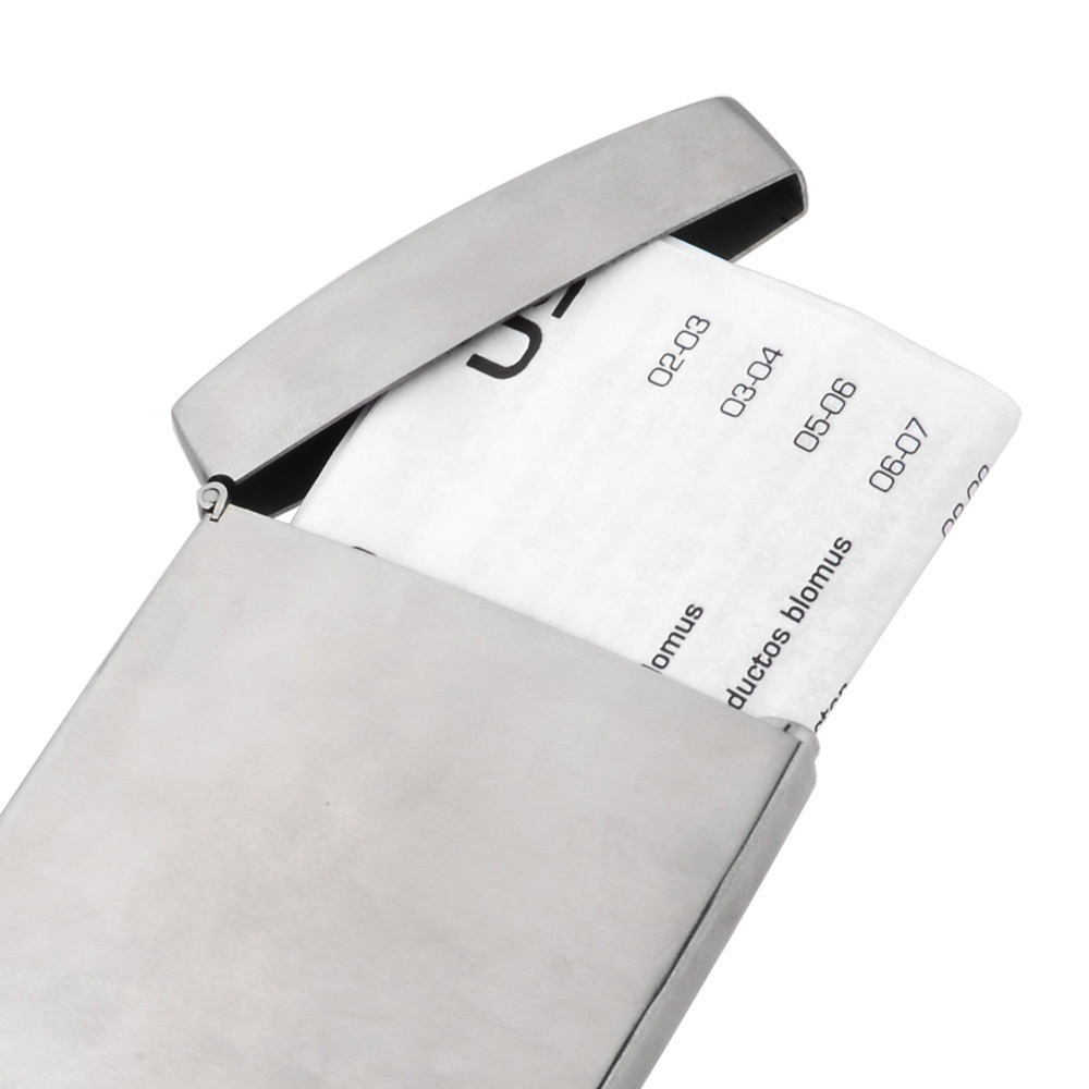 Cheap steel card holder find steel card holder deals on line at get quotations 2015 vogue stainless steel business credit card holder cases hot sale silver aluminium business name credit reheart Image collections