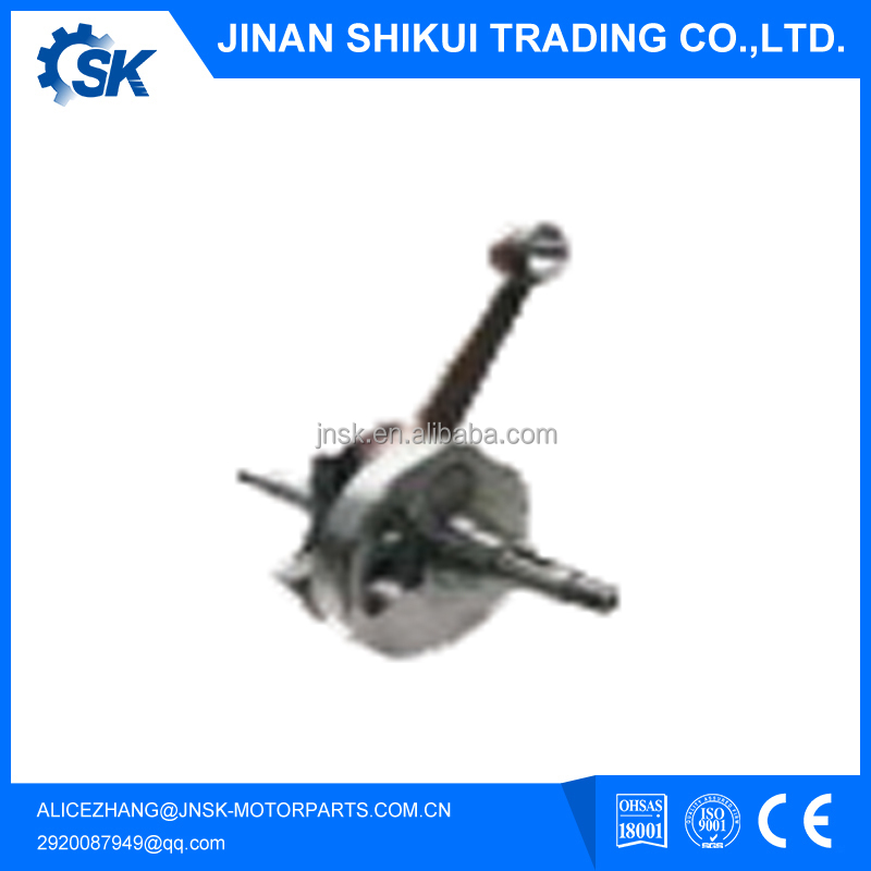 Motorcycle Crankshaft(for Euro II Emission Version Engine) for various motorcycle YBR125 JYM (Made in China/OEM quality)
