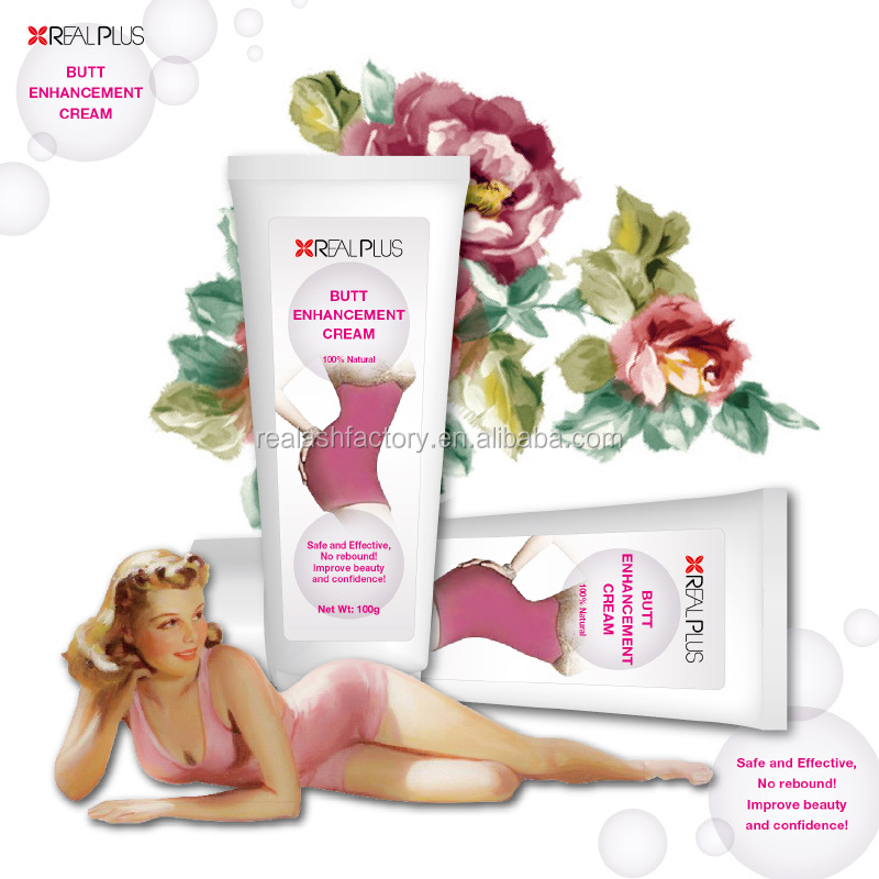 100% Safe and pain-free Herbal Enlarge and firm the buttocks 2016 latest hip lift up cream Real plus butt cream