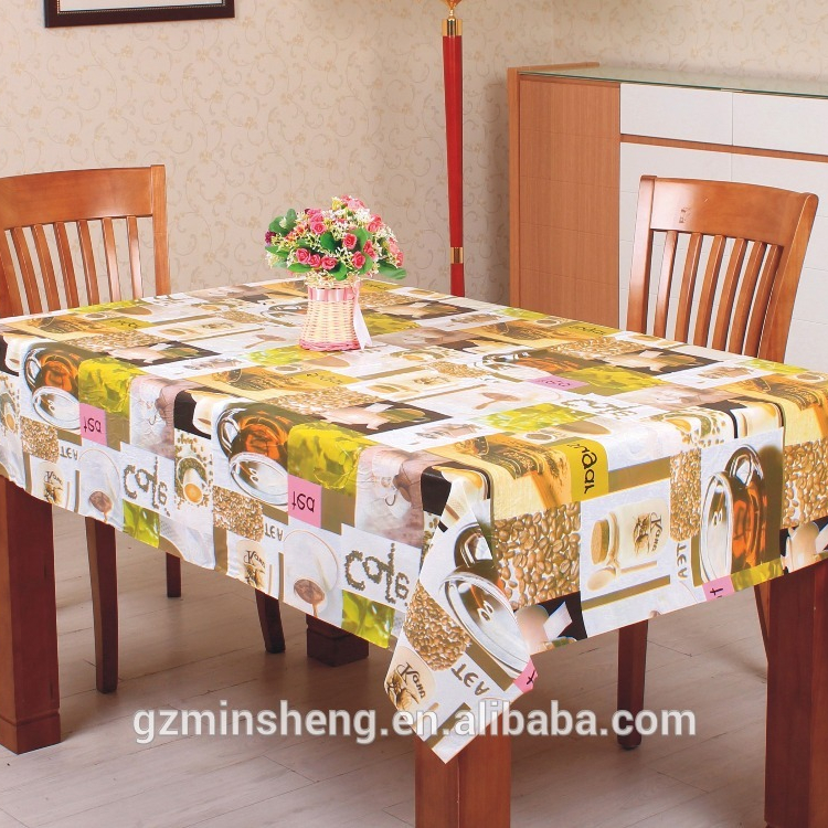 High Quality Lfgb Oval Plastic Tablecloths With Lace Edge