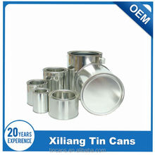 mental round tin paint can with lids, paint can factory