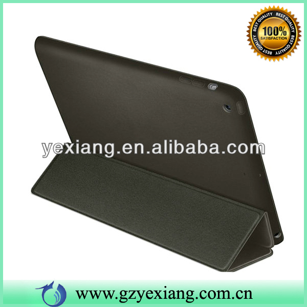 Black High Quality PU Cover For Ipad Air Tablet 9.7 Inch Leather Case