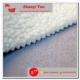 100% polyester suede with sherpa fur bond adhesive suede fabric for cloth