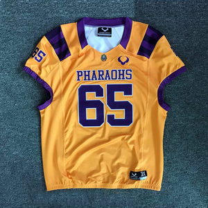 Blank custom american football jersey design