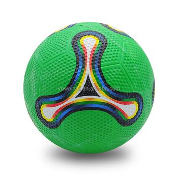 686ada5b7a Offical Size Dimple Futsal Ball Golf Soccer Ball China Custom Rubber  Football
